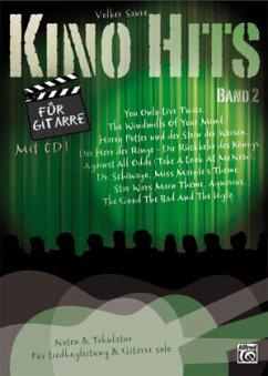 Kino Hits für Gitarre, m. Audio-CD