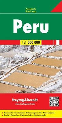 Freytag & Berndt Peru, Autokarte 1:1.000.000; Pérou