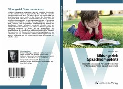 Bildungsziel: Sprachkompetenz
