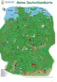 Meine Deutschlandkarte, Kinderdeutschlandkarte