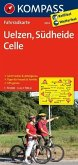 KOMPASS Fahrradkarte Uelzen - Südheide - Celle / Kompass Fahrradkarten