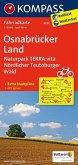 Kompass Fahrradkarte Osnabrücker Land, Naturpark TERRA.vita, Nördlicher Teutoburger Wald / Kompass Fahrradkarten