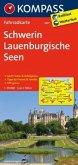 Kompass Fahrradkarte Schwerin, Lauenburgische Seen