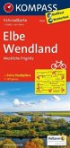 Kompass Fahrradkarte Elbe, Wendland, Westliche Prignitz / Kompass Fahrradkarten