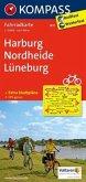 Kompass Fahrradkarte Harburg, Nordheide, Lüneburg / Kompass Fahrradkarten