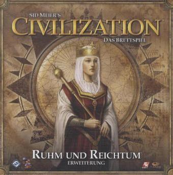 Asmodee FFGD0111 - Civilization: Ruhm und Reichtum, Erweiterung
