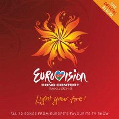Eurovision Song Contest 2012, Baku, 2 CDs