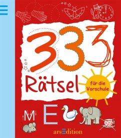 333 Rätsel für die Vorschule - Bartl, Almuth