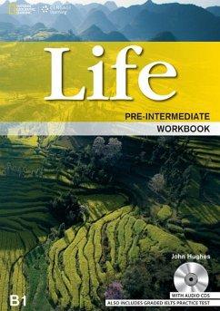 Life Pre-Intermediate: Workbook with Key and Au...