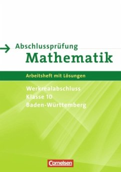 Abschlussprüfung Mathematik 10. Schuljahr. Arbe...