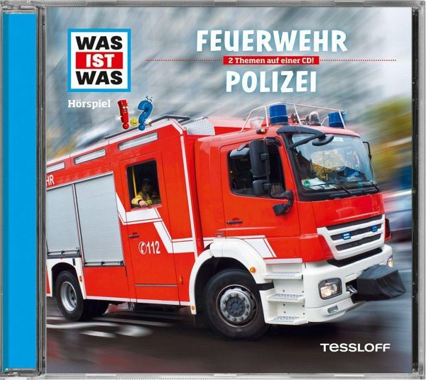 feuerwehr polizei 1 audio cd von matthias falk. Black Bedroom Furniture Sets. Home Design Ideas