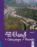 Mit dem Hausboot durch Elsass, Champagne/Ardennen und Picardie
