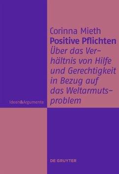 Positive Pflichten - Mieth, Corinna