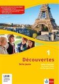 Découvertes Série jaune 1. Cahier d'activités 1 mit Audio-CD (MP3 für PC), DVD mit Filmsequenzen und Übungssoftware