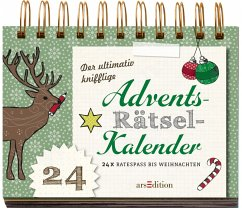 Der ultimativ knifflige Advents-Rätsel-Kalender - Golluch, Norbert