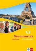 Découvertes Série jaune 1 und 2. 99 Wortschatzübungen