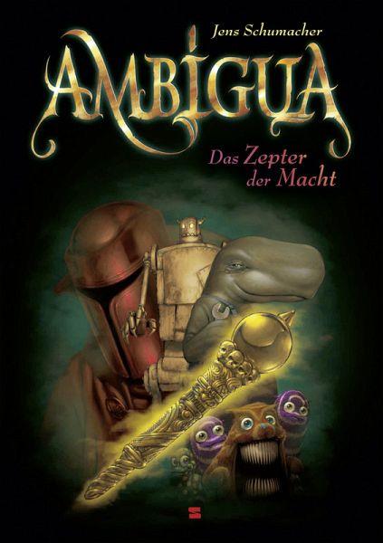 Buch-Reihe Ambigua von Jens Schumacher