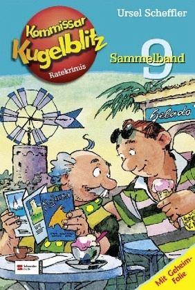Buch-Reihe Kommissar Kugelblitz Sammelband
