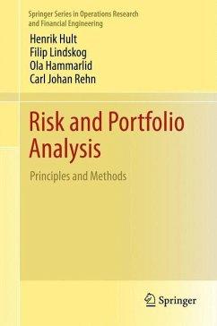 Risk and Portfolio Analysis - Hult, Henrik; Lindskog, Filip; Hammarlid, Ola; Rehn, Carl Johan