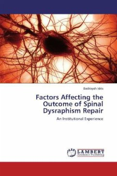 Factors Affecting the Outcome of Spinal Dysraphism Repair