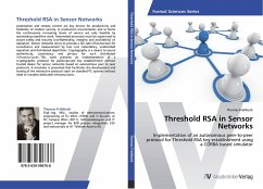 Threshold RSA in Sensor Networks