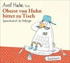 Oberst von Huhn bittet zu Tisch, 1 Audio-CD