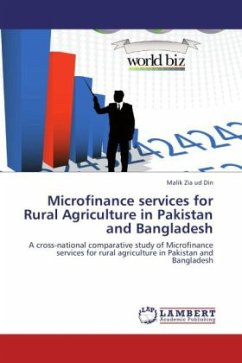 Microfinance services for Rural Agriculture in Pakistan and Bangladesh