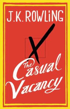 The Casual Vacancy\Ein plötzlicher Todesfall, englische Ausgabe - Rowling, Joanne K.