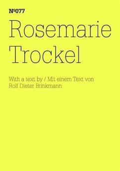 Rosemarie Trockel - Trockel, Rosemarie