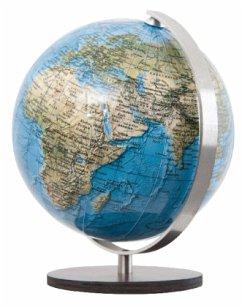 DUORAMA Globus, Fuß Holz braun / Columbus Globen .