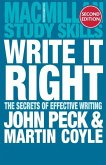 Write it Right: The Secrets of Effective Writing