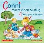 Meine Freundin Conni, Conni macht einen Ausflug / Conni geht auf Reisen, 1 Audio-CD