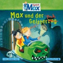 Max und der Geisterspuk / Typisch Max Bd.3 (1 Audio-CD) - Tielmann, Christian