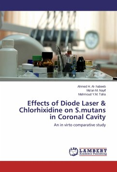 Effects of Diode Laser & Chlorhixidine on S.mutans in Coronal Cavity