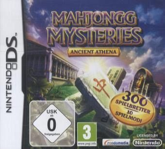 mahjongg mysteries ancient athena nintendo ds spiel. Black Bedroom Furniture Sets. Home Design Ideas