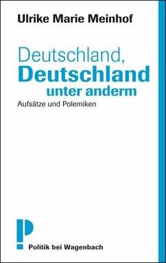 Deutschland, Deutschland unter anderm - Meinhof, Ulrike M.