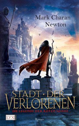 Buch-Reihe Die Legende der roten Sonne von Mark Charan Newton