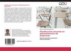 Planificación docente en Administración de Empresas