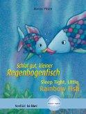 Schlaf gut, kleiner Regenbogenfisch. Kinderbuch Deutsch-Englisch