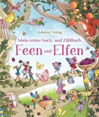 Mein Erstes Such- Und Zählbuch: Feen Und Elfen Von Suzanna