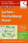 Klemmer Pocket Rad-, Wander- und Paddelkarte Lychen - Fürstenberg/Havel 1 : 50 000