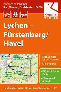 Klemmer Pocket Rad-, Wander- und Paddelkarte Ly...
