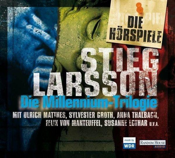 Die Millennium-Hörspiel-Trilogie, 9 Audio-CDs - Larsson, Stieg