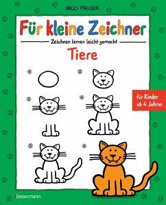 Für kleine Zeichner - Tiere - Fauser, Nico