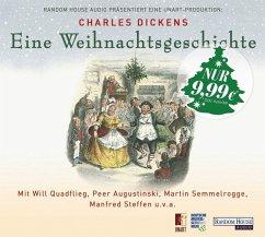 Eine Weihnachtsgeschichte, 1 Audio-CD - Dickens, Charles