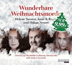Wunderbare Weihnachtsmorde, 2 Audio-CDs - Nesser, Hakan; Tursten, Helene; Ragde, Anne B.