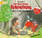 Der kleine Drache Kokosnuss reist in die Steinzeit / Die Abenteuer des kleinen Drachen Kokosnuss Bd.18 (Audio-CD)