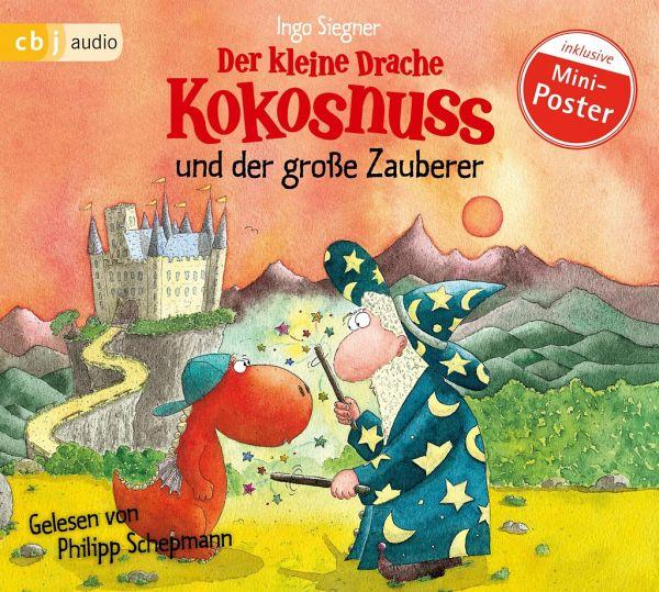 Der kleine Drache Kokosnuss und der große Zauberer / Die Abenteuer des kleinen Drachen Kokosnuss Bd.3, Audio-CD - Siegner, Ingo