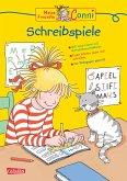 Schreibspiele (mit Leselineal) / Conni Gelbe Reihe Bd.15