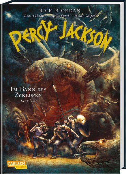 Im Bann des Zyklopen / Percy Jackson Comic Bd.2